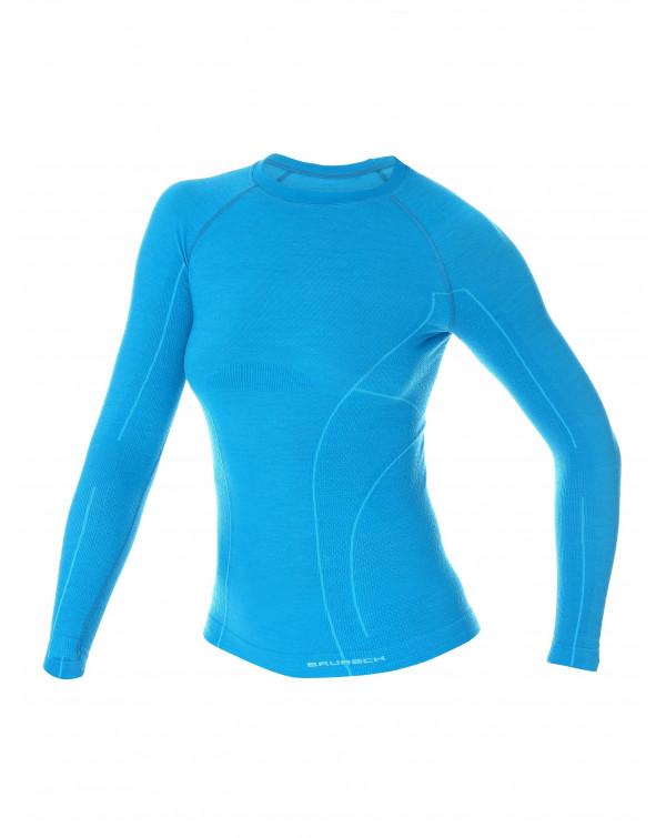 Retrouvez notre Sweat-shirt thermique Femme ACTIVE MERINOS au prix de 78,90€
