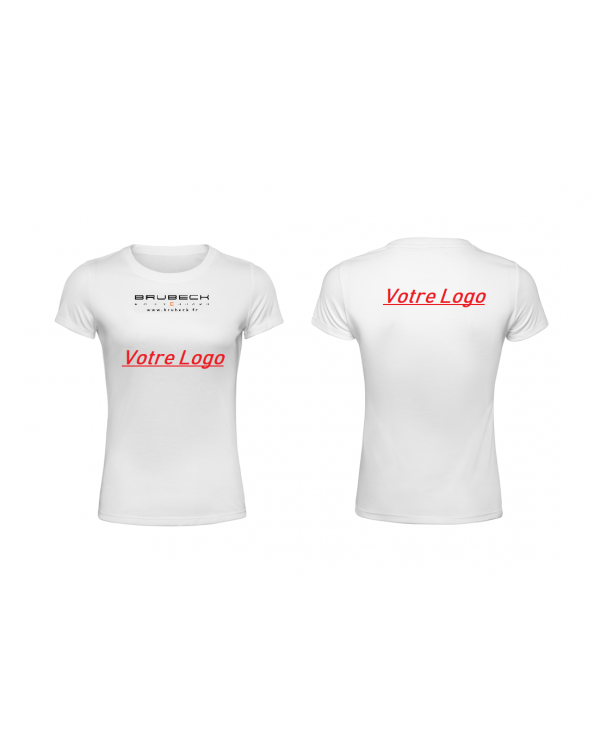 T-Shirt manches courtes Femme PERSO