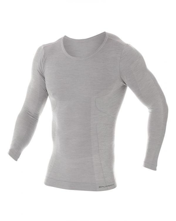 T-shirt Homme CONFORT WOOL à manches longues