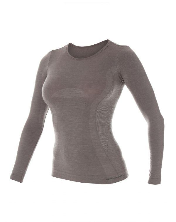 T-shirt Femme CONFORT WOOL à manches longues