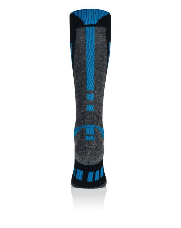 Chaussettes de ski Homme bleu MERINOS