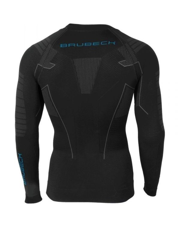 Sweat-shirt Homme manches longues Noir THERMO
