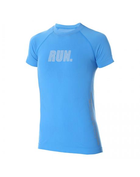 T-shirt Femme RUNNING AIR PRO Bleu