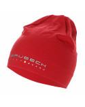 bonnet rouge en mérinos