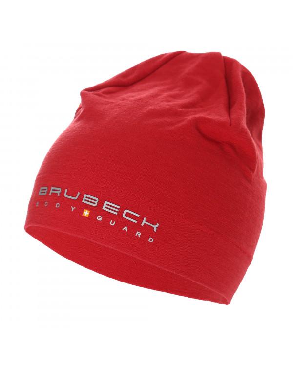 Découvrez notre bonnet rouge en mérinos
