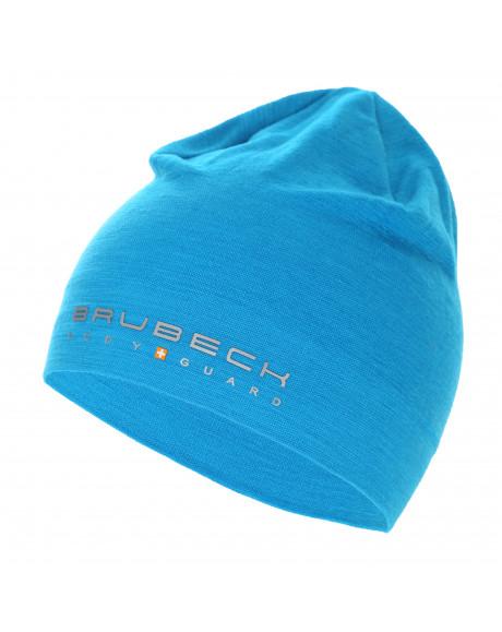 Bonnet thermique MERINOS Bleu Ciel