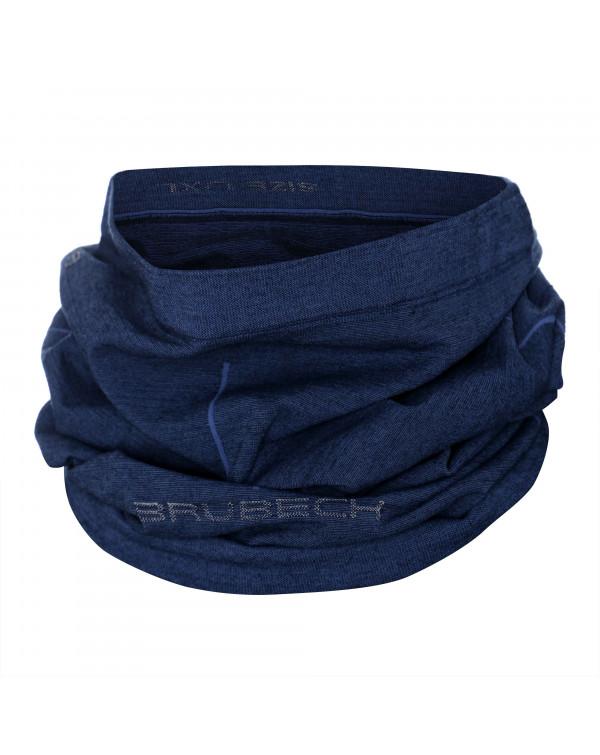 Retrouvez notre Cache cou bleu foncé Unisex MERINOS au prix de 28,90€