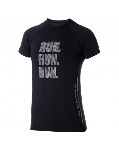 T-shirt Femme RUNNING AIR PRO Noir