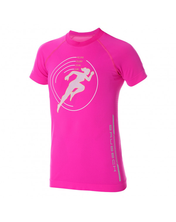 T-shirt Femme RUNNING AIR PRO Rose