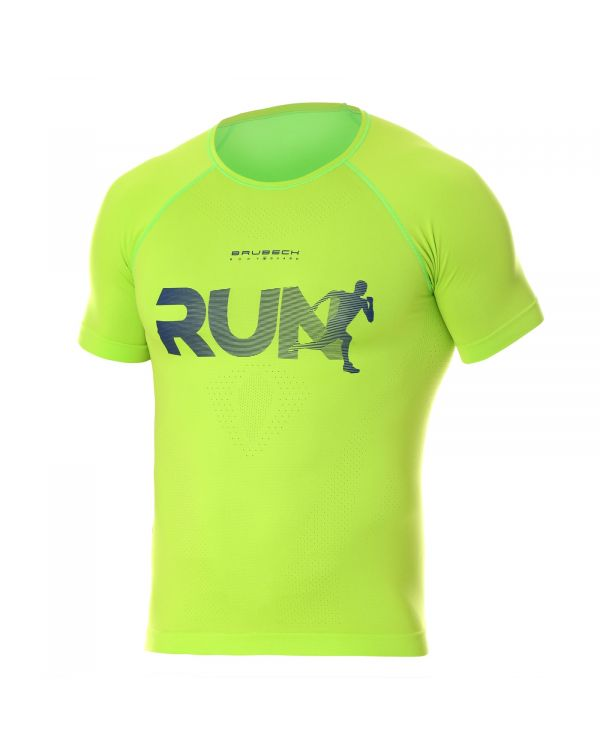 T-shirt Homme RUNNING AIR PRO Or