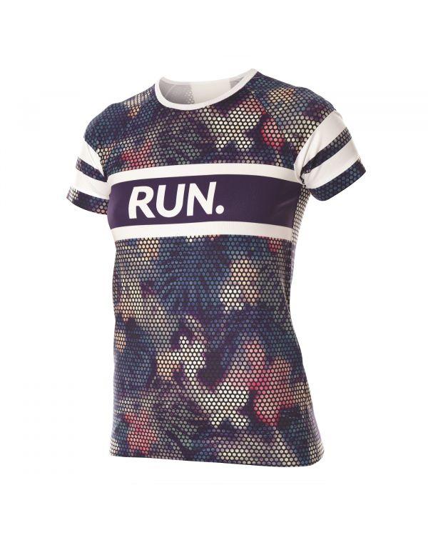 T-shirt Femme RUNNING AIR Violet
