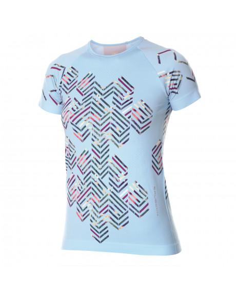 T-shirt Femme RUNNING AIR Blu