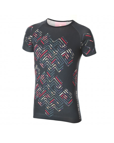 T-shirt Femme RUNNING AIR Black