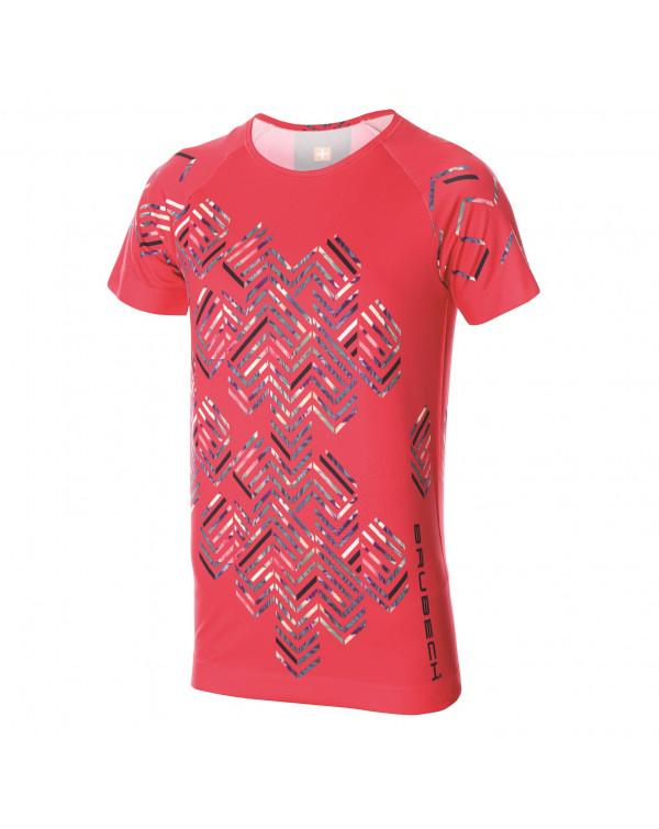 T-shirt Femme RUNNING AIR Pink