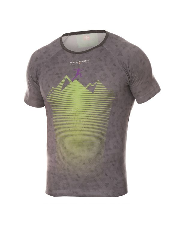 T-shirt Homme RUNNING AIR Gray