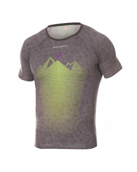 T-shirt Homme RUNNING AIR Gray