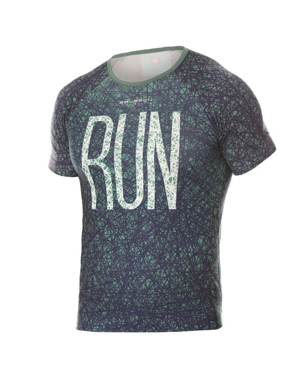 T-shirt Homme RUNNING AIR Grenn