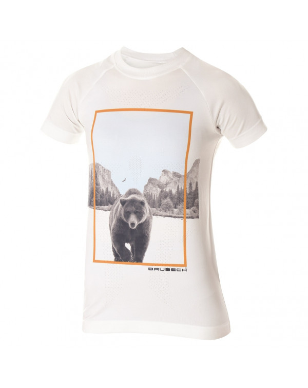 t shirt blanc City Air de Brubeck