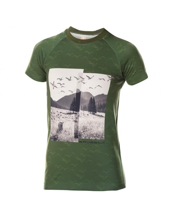 t shirt Vert City Air de Brubeck