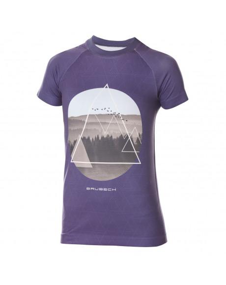t shirt bleu City Air de Brubeck