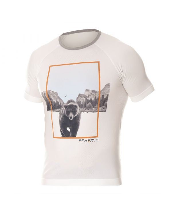 t shirt blanc Homme City Air de Brubeck