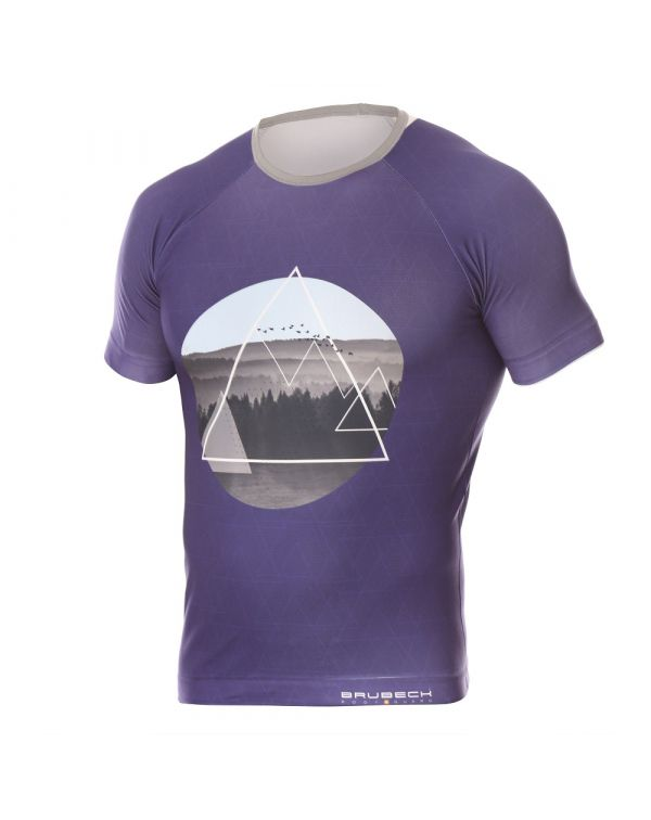 t shirt Bleu Homme City Air de Brubeck