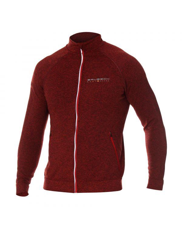 Veste zippée red homme FUSION