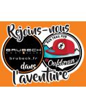 Stickers jeu concours Brubeck - Oufderun