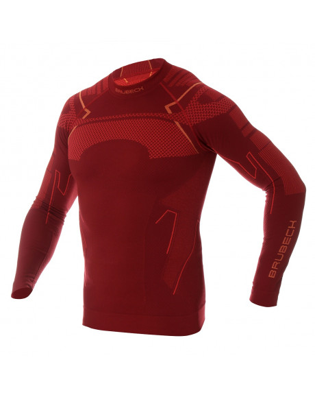 Sweat-shirt Homme manches longues Red THERMO