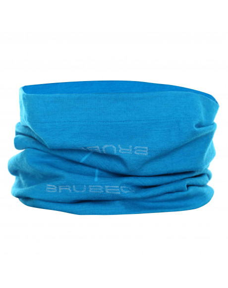 Cache cou Bleu ciel Unisex MERINOS