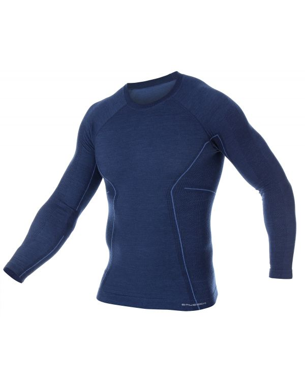 Sweat-shirt thermique Homme ACTIVE MERINOS