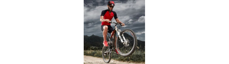Brubeck vous propose aussi la panoplie complète du parfait cycliste!