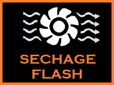 Séchage Flash